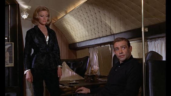 """""""A martini. Shaken, not stirred."""" Sean Connery as James Bond in Goldfinger 1964."""