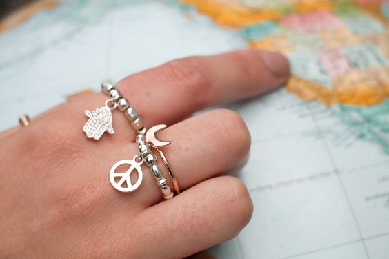 Stack your rings just like your bracelets!