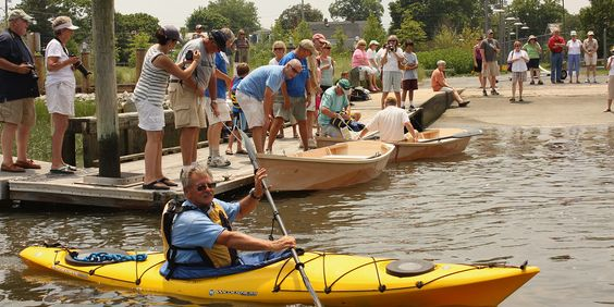 Learn how to build a boat in Southern Delaware! Great family-fun activity!