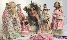 Aprenda com experts na eduK. Curso ao vivo Online de Bonecas românticas de Millyta