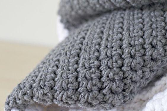 Extra Large Knitting Needles Uk : Extra large chunky crochet blanket so easy all single