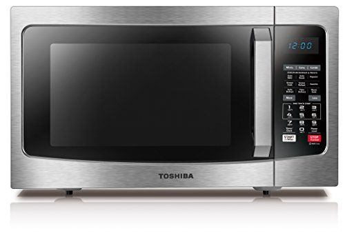 Toshiba Ec042a5css Convection Microwave With Sensor Cooking Function 15 Cu Ft Stainless Stee Microwave Convection Oven Stainless Steel Oven Built In Microwave