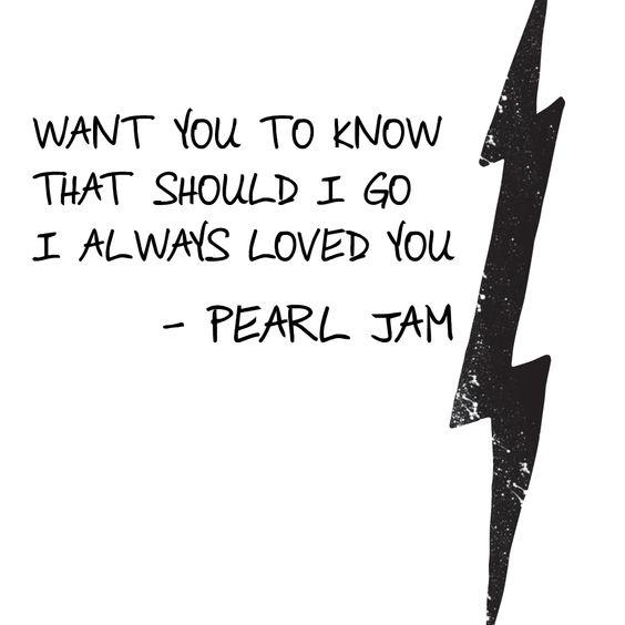 """Sirens,"" Pearl Jam lyrics"