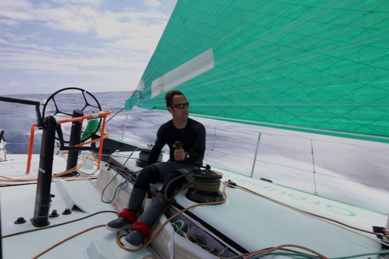 Thomas Coville / Leg 6 - Day 2 / Groupama in the Volvo Ocean Race / Credit : Yann Riou