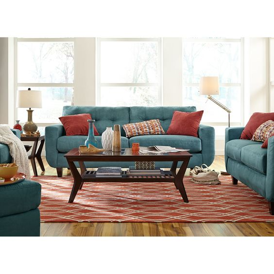 West Village Sofa Blue Pinterest Stitching Plush And Furniture