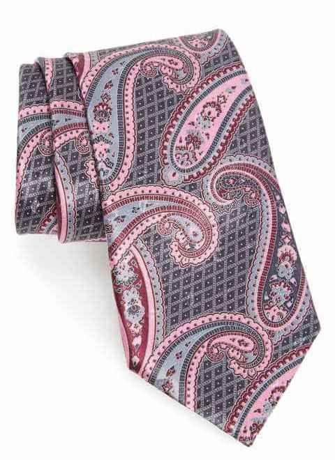 كرفتات شيك للرجل الشيك Silk Ties Paisley Zegna