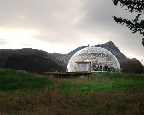 Inside A Glass Dome In Northern Norway Lives A Family Of