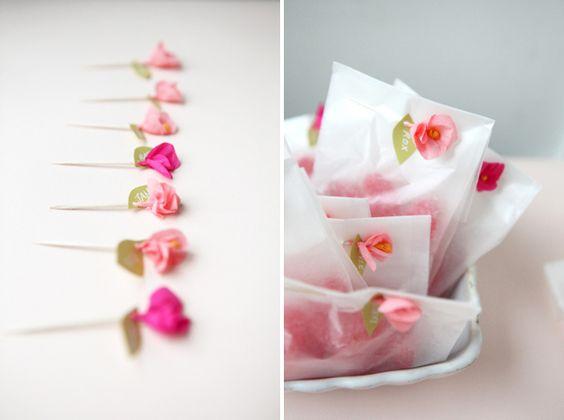 DIYmini crepe paper flower Craft  DIY Pinterest Crepe