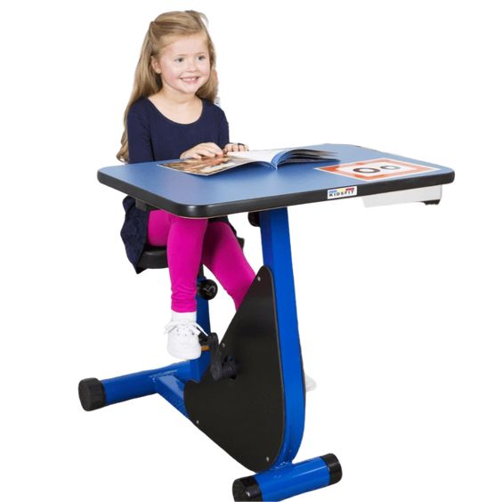 Kidsfit Kids Kinesthetic Classroom Kc 35k1 Single Person Pedal Desk K Sensory Mart In 2020 Kinesthetic Single Person Classroom