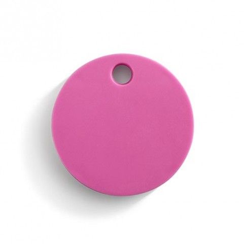 "Bethge | Chipolo ""Item finder"" in pink."