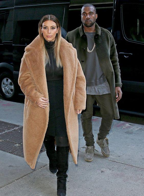 Kim Kardashian-The coat