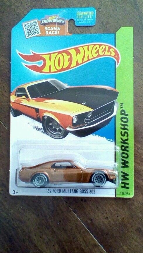hot wheels 69 ford mustang boss super treasure hunt variant no th logo vhtf - Rare Hot Wheels Cars 2015