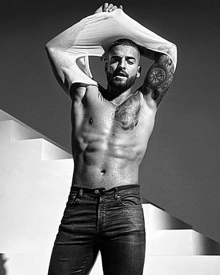 Maluma Baby Maluma Calentando La Nueva Campaña De Calvin Klein Maluma Maluma Sin Camisa Fotos De Maluma