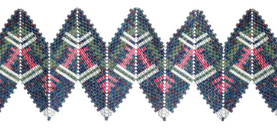 Danielle McElroy Brown RickRack, Contemporary Geometric Beadwork, 2012, Jean Power and Kate McKinnon