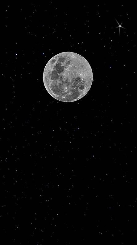 Super Moon Night Iphone Wallpaper Moon Black Background Wallpaper Black Aesthetic Wallpaper