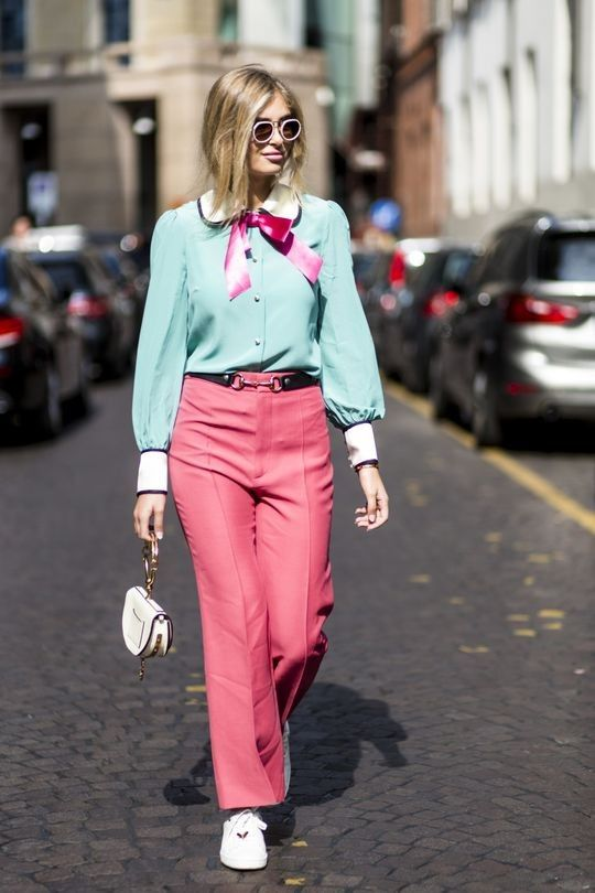 Street style bait: the most OTT sartorial peacocking to emulate from the season, or not - Vogue Australia