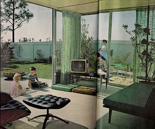 Retro Shack Interiors: 1960's Living (In case you weren't there)
