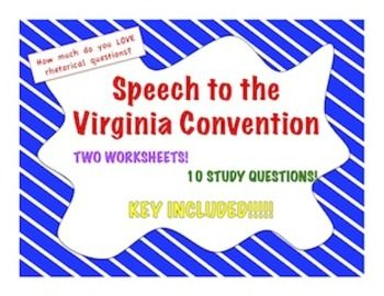 thesis of speech in the virginia convention Free essays on a speech at the virginia convention get help with your writing 1 through 30.