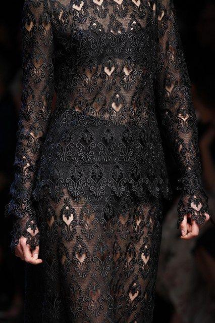 Dolce & Gabbana Fall 2014 Detail.