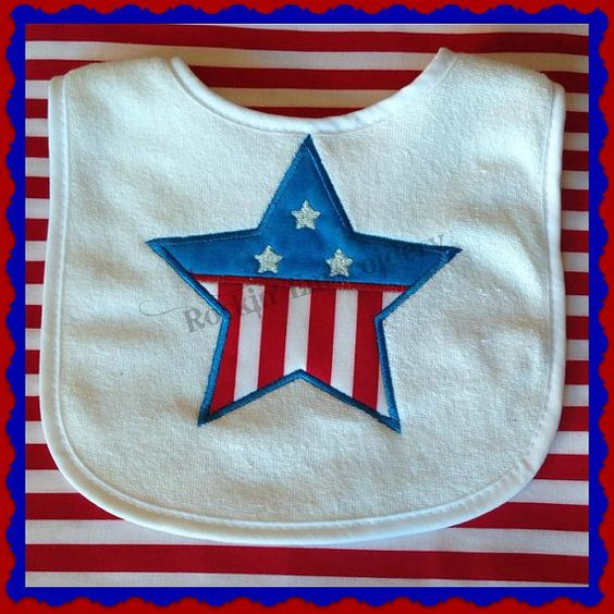Patriotic Star by RockinEmbroidery on Etsy, $4.00