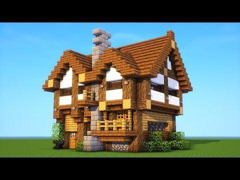 Minecraft Tutorial How To Build A Medium Survival House