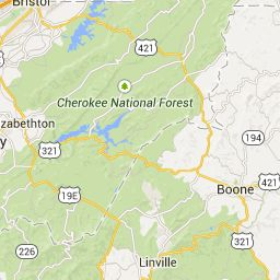 Louisville, KY ~ Nada Tunnel/Red River Gorge ~  Johnson City, TN - 318 Miles - 6 Hours ~ WET County