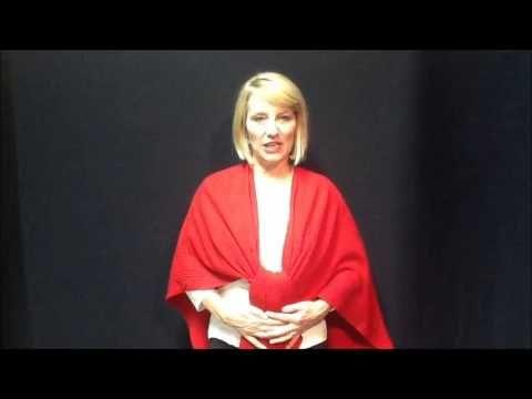 ▶ How to wear a ruana shawl wrap. Shanniegirl.com - YouTube