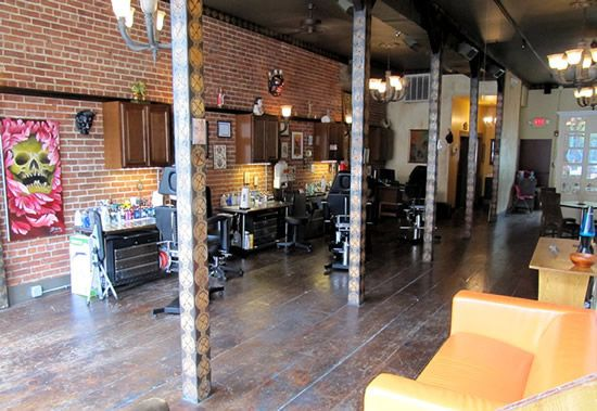 Graceland tattoo studio and piercing in new york dutchess for Tattoo shops in new york