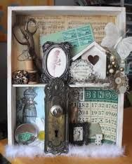 shadow box art ideas - Google Search