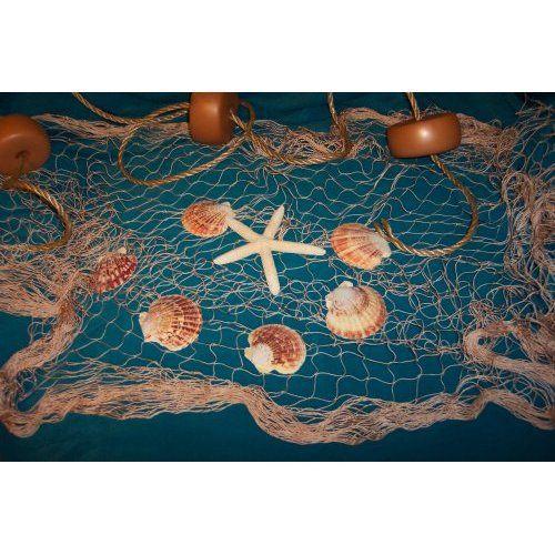 10 x 9 fishing net fish nets netting starfish sea for Fish netting decor