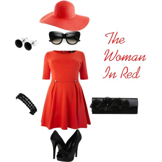The Woman In Red,   created by GHermione