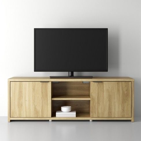 Media Stand Natural Made By Design Furniture For Small Spaces