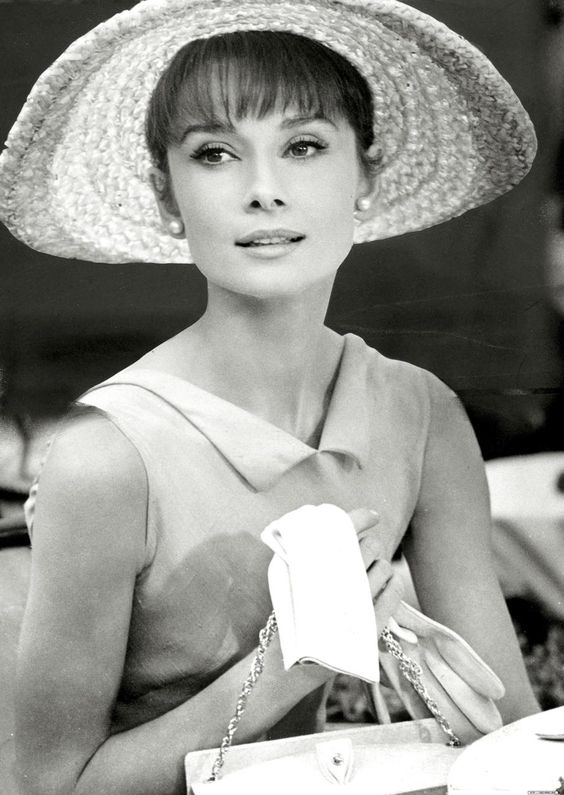 Audrey... so flawless... so playful... so regal: