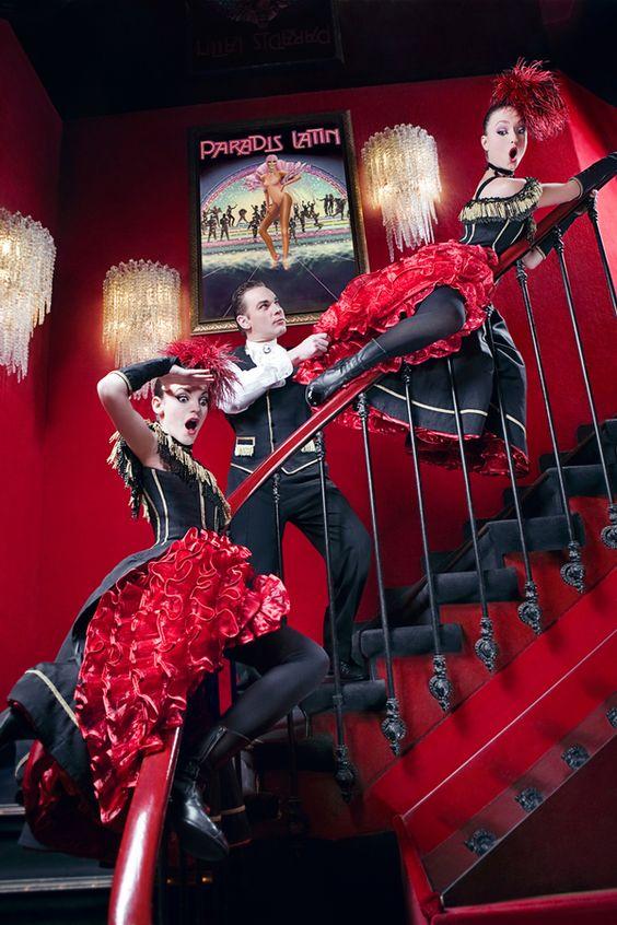 Cabaret Paradis Latin: Press photos by isshogai daimyo, via Behance