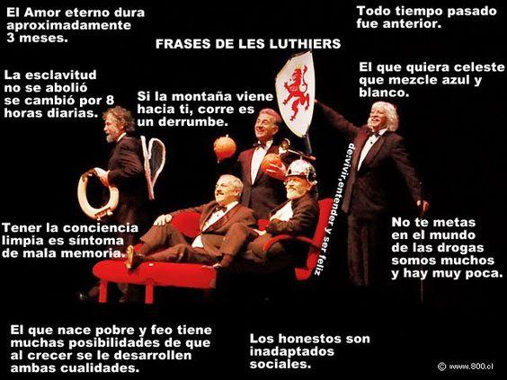 Frases de Les Luthiers - Humor