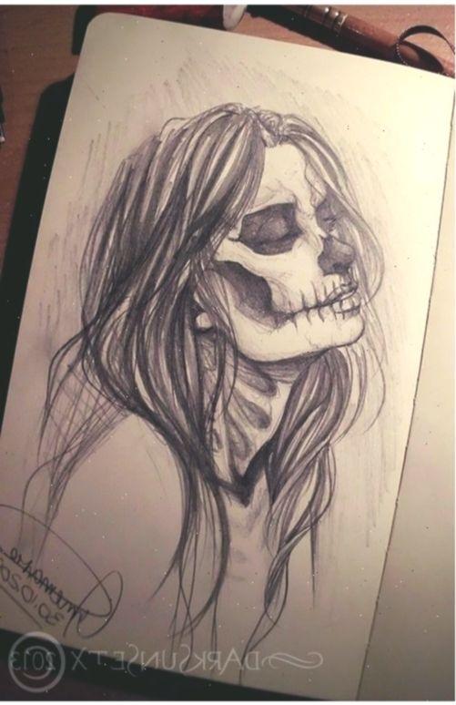 Art Bones Drawing Girl Halloween Horror Love Mask Paper Photography Sk Zeichnungen Halloweendrawings In 2020 Horror Art Draw Art Drawings