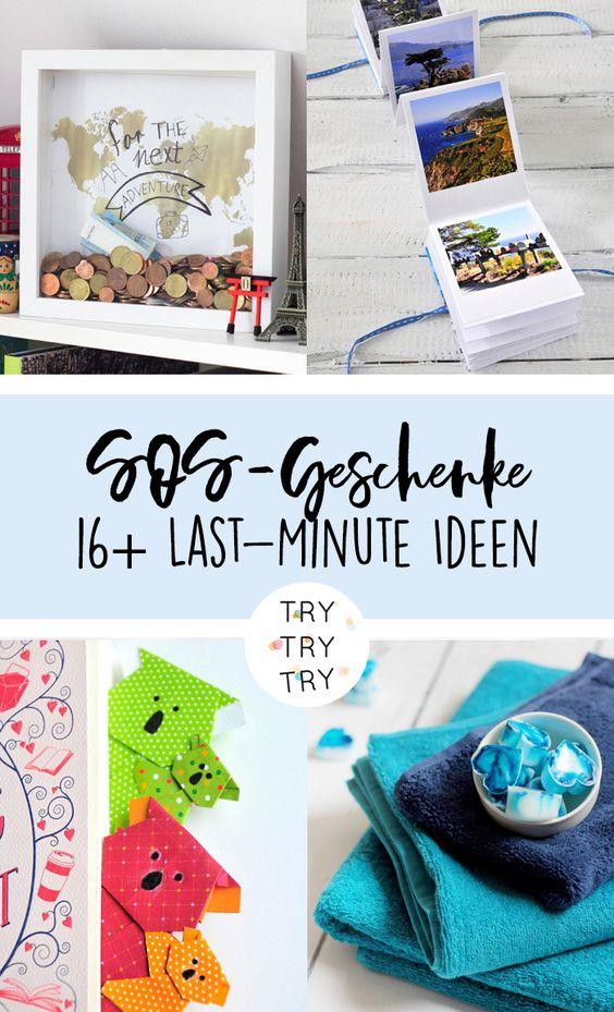 SOS-Geschenke: 16 Last-Minute DIY-Geschenkideen für Weihnachten