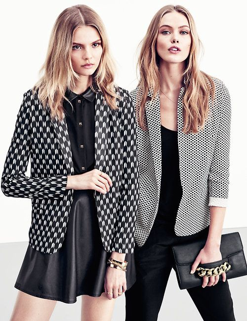 "queenfrida:  Magdalena Frackowiak and Frida Gustavsson for H&M ""Ways to Wear It"" Lookbook"