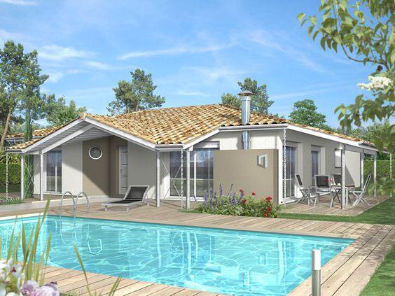 LYRATA 102 m2 - QUADRI - Constructeur de maison individuelle ossature bois et…