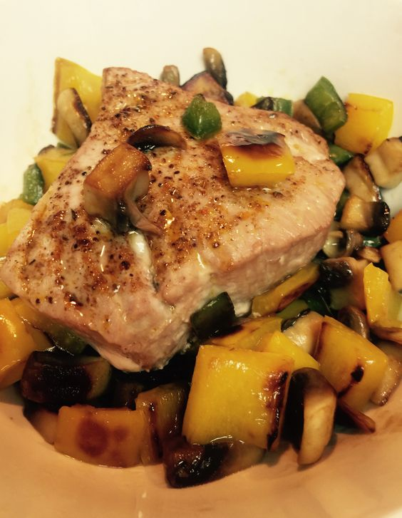 and more tuna steaks ideal protein protein tuna mushrooms le veon bell ...