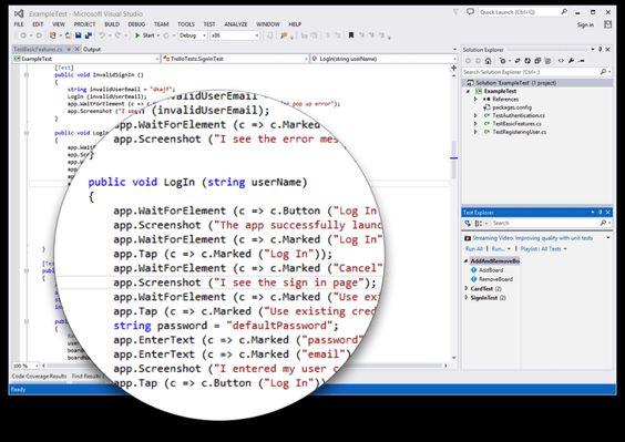 Neue Xamarin Test-Cloud Eigenschaften - Mehr Infos zum Thema auch unter http://vslink.de/internetmarketing