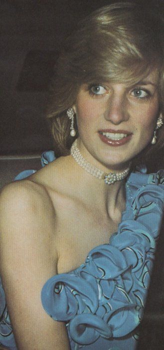 November 9, 1982: Princess Diana at the Birthright Fashion Show Fundraiser at The Guildhall, London.