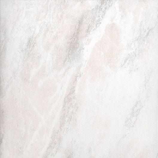 Carrelage intérieur Sianne en grès émaillé, rose, 33.5 x 33.5 cm