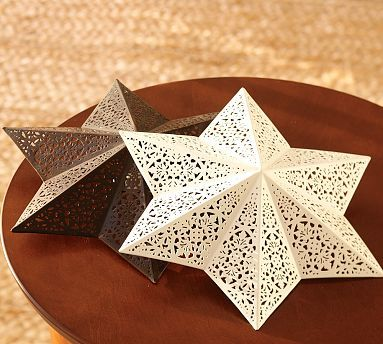 Green & Gardenia: simple & inspiring: Filigree Star Ceiling Clip ...:Green & Gardenia: simple & inspiring: Filigree Star Ceiling Clip Shade |  Rons Office | Pinterest | Shades, Stars and Simple,Lighting