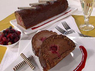 Arrollado de chocolate y frambuesa | Recetas | foxlife.com | Mercedes Aguirre