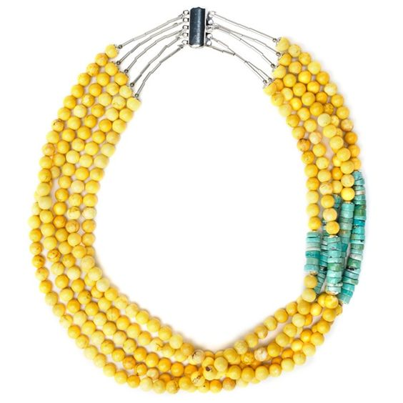Multistrand Necklace - Inspired by opposites A challenge yields a harmony of design and proportion - Bead Style
