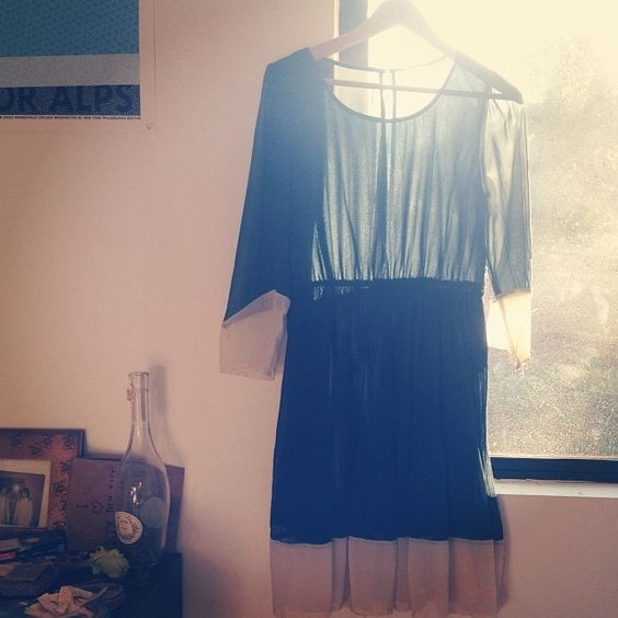 a dress I bought to wear to Throwing Muses