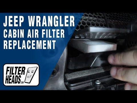 How To Replace Cabin Air Filter Cabin Air Filter Cabin Filter