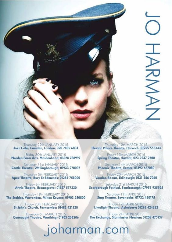 Female Vocalist of the Year at British Blues Awards @jo_harman performing at @edinburghblues @voodoorooms on 20 March