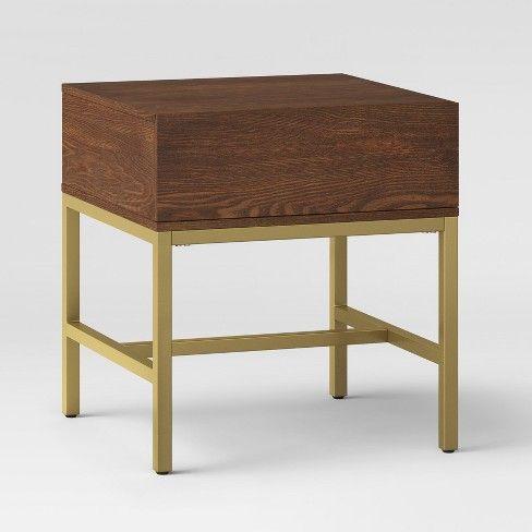 Excellent 105 Antwerp End Table Walnut Project 62 Target Mid Inzonedesignstudio Interior Chair Design Inzonedesignstudiocom